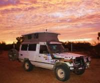 Diamantina NP QLD Camp